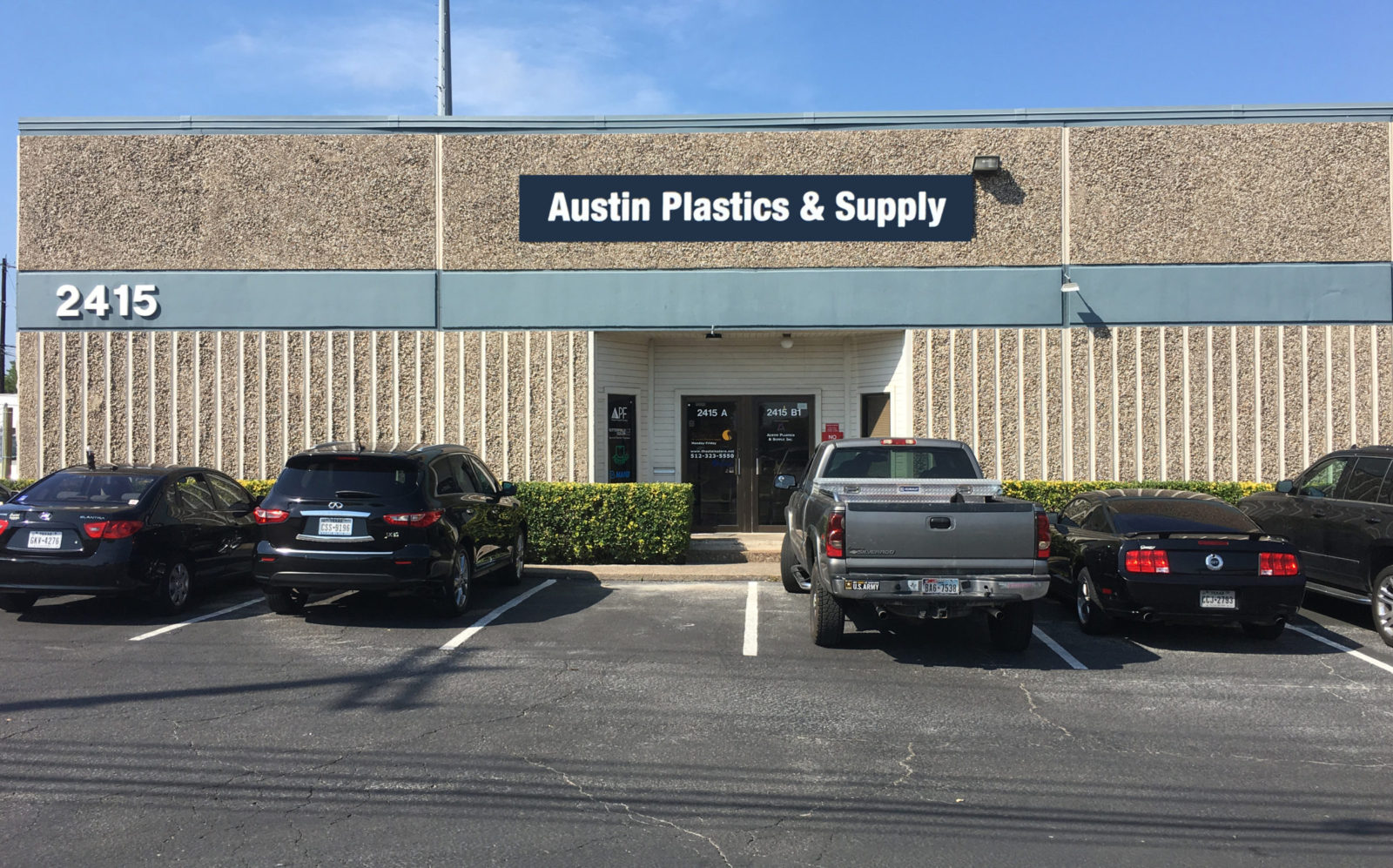 Our Location: 2415 Kramer Ln Ste. B, Austin, TX 78758